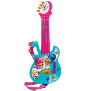 Guitarra infantil colorida