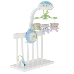 Móvil de ositos voladores de Fisher-Price